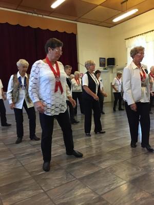 Les reportasjen om de gamle damene som danser i takt og holder seg unge i Fredrikstad.