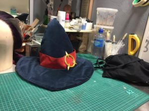 Workshopen til Caroline. Foto: Louise