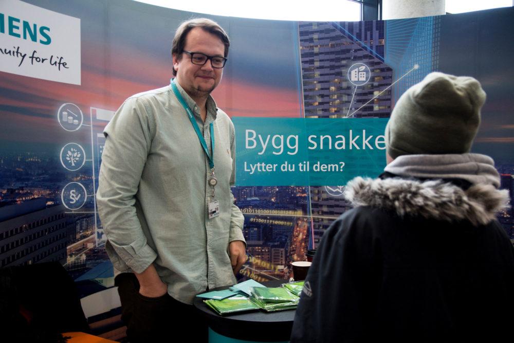 Siemens. Foto: Louise Skjelbreid Andersen