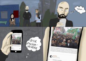 Hania Musavi: tegneserie