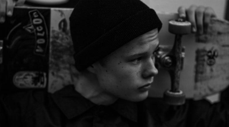 Self Portrait - Skater-Boy B&W